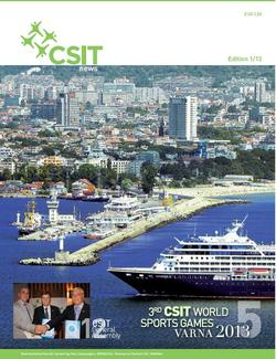"Brand new edition of the ""CSIT News""- Magazine"