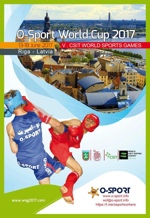 O-Sport World Cup at the CSIT World Sports Games in Riga