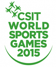 4th CSIT World Sports Games 2015 - PRELIMINARY on-line REGISTRATION February 15th
