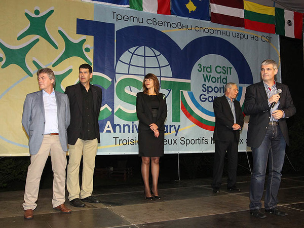 Compliments to the organizer of the 3rd CSIT World Sports Games
