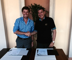 CSIT and AICS signed contract for the 4th WSG 2015