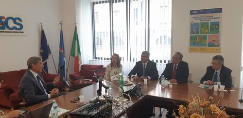 INDET-Mexico on visit in Rome