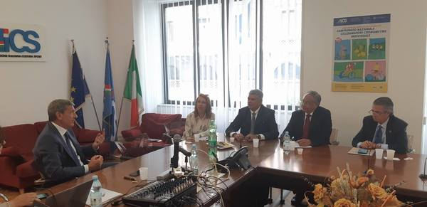 INDET on visit in Rome