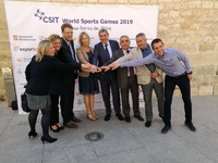 CSIT World Sports Games 2019 - Official Presentation in Tortosa
