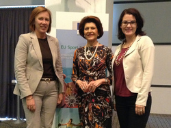 CSIT Vice President Sirpa PAATERO at the EU sport forum