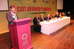Harald Bauer re-elected as President of CSIT