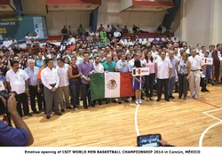 CSIT World Men Basketball Championship Cancun
