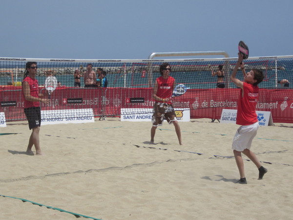 Trendy new sport Beachtennis would be ready to enter the CSIT