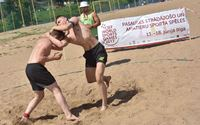 Iranians Dominated the Beach Wrestling