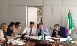 Lignano Games 2015 and Congress 2014 Preparatory Meeting in Rome