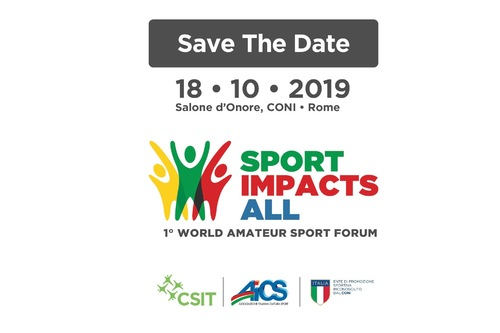 Sport Impacts All – 1st World Amateur Sport Forum