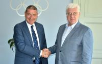 CSIT President Molea visited Latvian Olympic Committee