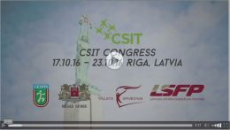 Video Latvian Capital Riga – Hostcity CSIT World Sports Games 2017 and CSIT Congress 2016