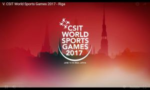Video CSIT World Sports Games 2017 - Riga